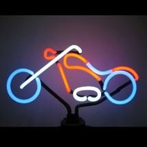 """Chopper Motorcycle Bike Neon Sculpture Bar Sign Wall Decor  8"""" x 14"""" - $89.99"""