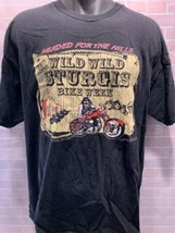 72nd Annual Wild STURGIS Bike Week 2012 South Dakota T-Shirt Size XL - $15.68