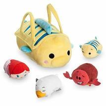 The Little Mermaid ''Tsum Tsum'' Plush Set - Small Bag - 8'' - Plus 4 Mi... - $62.35