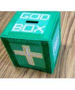 God Box, Prayer Box, Handmade, Plastic Canvas, Hopes, Concerns, Wishes, ... - $30.00