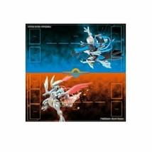 Pokemon card game durable play mat black Kyurem White Kyurem - $36.77