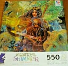 Jigsaw Puzzle 550 Pieces Fantasy Art Mystical Unicorn Fairy Wolf Lion Complete - $14.84