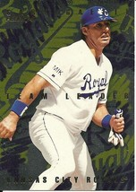 1996  Fleer Team Leaders Gary Gaetti 7 Royals - $1.00