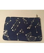 IPSY Star Navy Blue Makeup Cosmetic Bag CUTE Constellation - $5.89