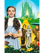 The Wizard Of Oz Judy Garland yellow brick road 18x24 Poster - $23.99