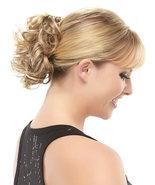 Human Hair Blonde Shining Wraps / Buns Hair Accessories Fuller Hair - $25.60
