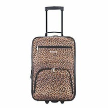 2-Piece Luggage Set Suitcase Carry-On Tote Bag Wheels Expandable Fabric ... - $47.89