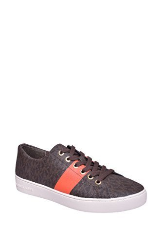 MICHAEL Michael Kors Women's Keaton Lace Up (8 B (M) US, Brown/Mimosa)
