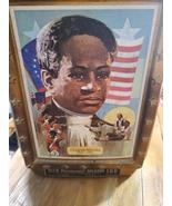 Crispus Attucks EMPTY Jim Beam Decanter with original box Collectors Edi... - $18.99