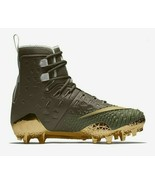 Nike Force Savage Elite TD Mens Football Cleat Olive Green Gold AH6424 271 - $69.95