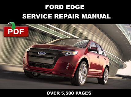 2013 ford edge service manual