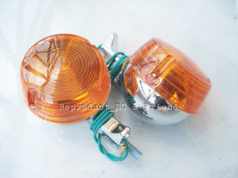 Suzuki A80 A90 A100 3/4/K/L U50 U70 Rear Winker Flasher Turn Signal 6V. (A pair) - $8.81