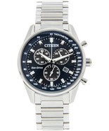Citizen Men's AT2390-82L Silver Stainless-Steel Eco-Drive Fashion Watch - $222.99