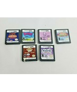 Nintendo DS Game Lot - 6 Games: Zoobles, Cooking Mama Shop & Chop, Zhu Z... - $33.65