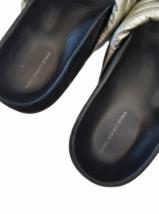 ISABEL MARANT ETOILE SZ 38/8 Silver HOLDEN Sandal Slide Shoe # 4014 image 2