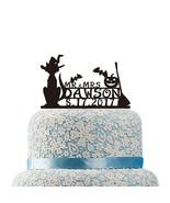 Buythrow® Acrylic Pumpkin Cake Topper Happy Halloween Cake Topper Mr Mrs... - $25.38