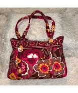 Vera Bradley Floral Pink Shoulder Bag - $49.49