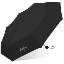 Weatherproof Manual Super Mini Umbrella-Wp-w810-Black, Black - $31.91