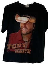 Toby Keith Unisex Adult Delta Graphic T-Shirt Black Good Tomes & Pick Up... - $9.89