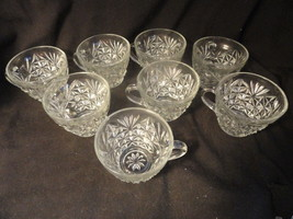 8 Anchor Hocking Arlington Punch Cups Mint - $9.99