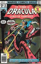The Tomb of Dracula Comic Book #62, Marvel Comics 1978 VERY FINE+ - $18.30