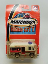 2002 Matchbox Hero City Collection Metro Base 15 NIP - $16.28