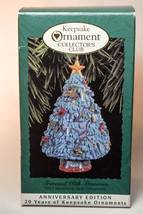 Hallmark: Trimmed With Memories - 1993 Members Keepsake Ornament - $8.27