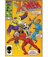 The Uncanny X-Men Comic Book #215 Marvel Comics 1987 NEAR MINT NEW UNREAD - $7.84