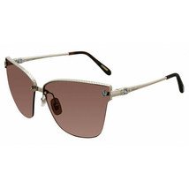 CHOPARD Sunglasses SCHC19S 594L Gold/Dark Rose Lens 65mm - $189.15