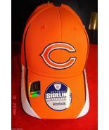 Chicago Bears Hat  Cap NFL Onfield Sideline Reebok L / XL Adult New - $39.99