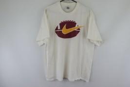 Vtg 90s Nike Mens XL Arizona State University Football Spell Out Big Log... - $59.35