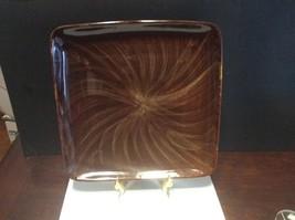 Oneida Horizon Swirl Square Diner Plate 10-3/4 Inches Wide - $30.00