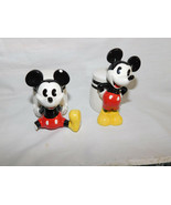 Mickey Mouse Salt and Pepper Shaker Disney Gibson - $3.99