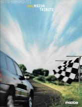2002 Mazda TRIBUTE sales brochure catalog 02 US DX LX ES V6 - $6.00