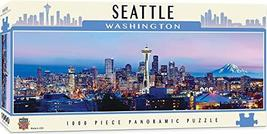 MasterPieces Cityscapes Panoramic Jigsaw Puzzle, Downtown Seattle, Washington, P - $19.99