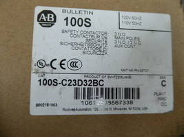 Allen Bradley 100S-C23D32BC Safety Contactor New image 2