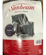 Sunbeam - TSF8TS-R470-33A00 - Heated Throw Blanket - Walnut - $45.49