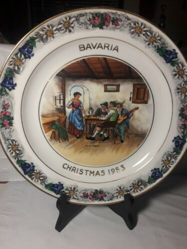Primary image for Rosenthal Helena Selb Germany Bavaria Christmas 1953  F. BENDERT