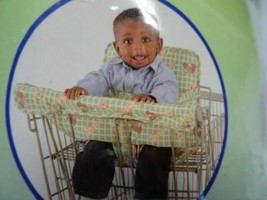 """Toddler Baby """"Secure-Me 2 in 1 Travel Seat"""" by NOJO Shopping Cart High C... - $13.95"""
