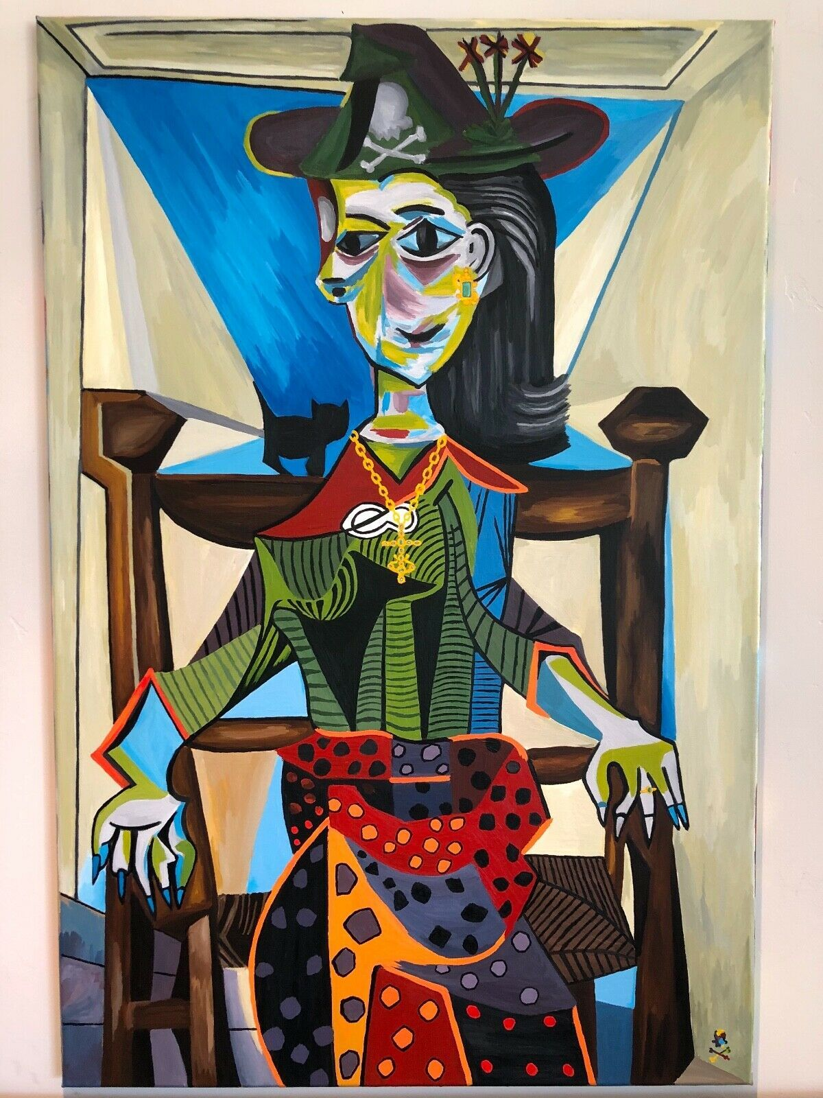 Primary image for Treasure Paintings JR Bissell: A Pirate's Rendition Pablo Picasso Dora Maar Chat