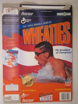 MT WHEATIES Box 1996 12oz Olympic Winner TOM DOLAN [G7E12a] - $6.38