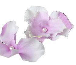 10 PCS Lovely Flower Pattern Hair Pins/Clips Headwears, Light Purple