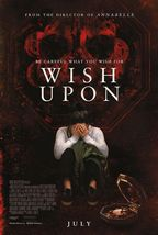 Wish Upon - original DS movie poster - 27x40 D/S - $27.00