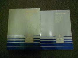 1985 Mitsubishi Mirage Service Werkstatt Handbuch 2 Vol Set Oem Buch 85 Fabrik - $35.03