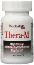 Thera-M Multivitamin Multimineral Supplement - 130 Caplets - $9.31