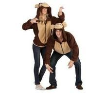 RG Costumes 40820-L Morgan Monkey Adult Hoodie - Large Halloween - $22.99