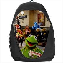 backpack school bag muppets kermit - $39.79
