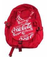 Coca-Cola  Red Backpack with Repeating Logo- BRAND NEW - $39.59