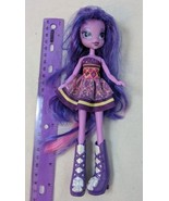 "Hasbro My Little Pony Equestria Girls Twilight Sparkle 9"" Doll Incomplet... - $7.00"