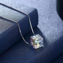 Sterling Silver Aurora Borealis Swarovski Elements Necklace- Two Options - $14.40